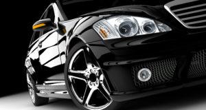 Czarne BMW