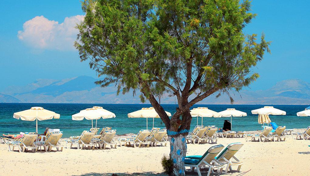 Plaże na wyspie Kos