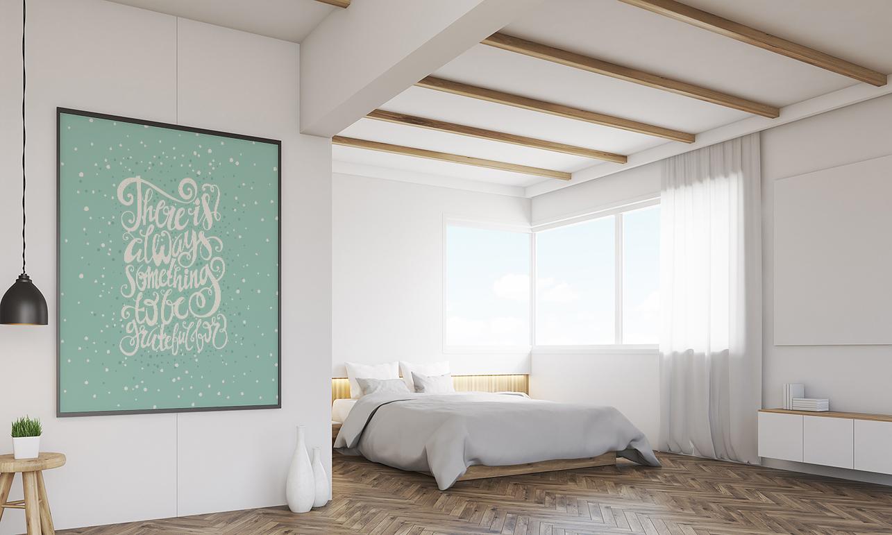 Plakat Do Sypialni Pomysł Na Wnętrze Z Charakterem