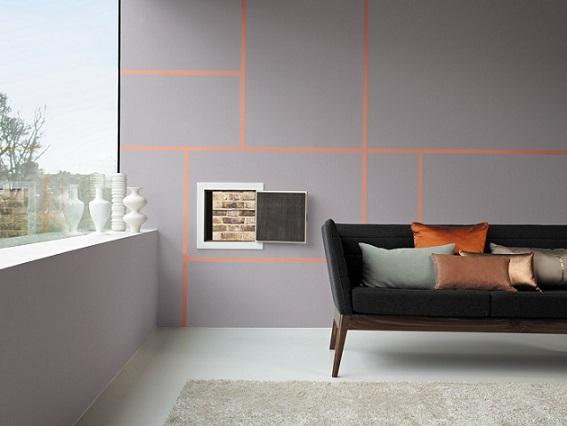 Salon - minimalistyczne wnętrzne