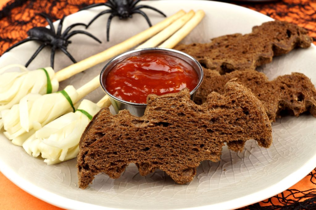 kanapki na Halloween