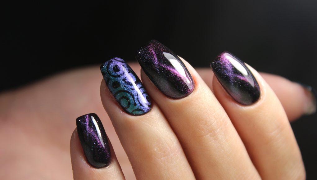 kocie oko manicure