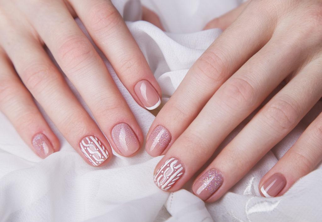 manicure wełna