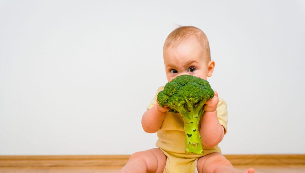 Dziecko je brokuła