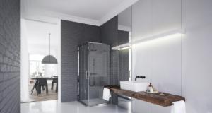 Łazienka w stylu wabi-sabi