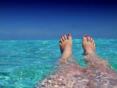 Kąpiel w oceanie
