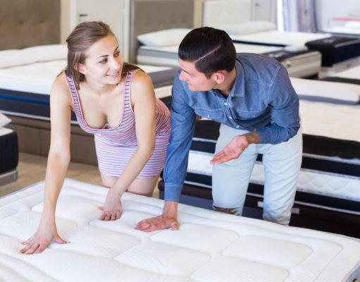 Wybór materaca dla pary