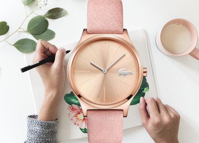 Zegarek pastelowy Lacoste