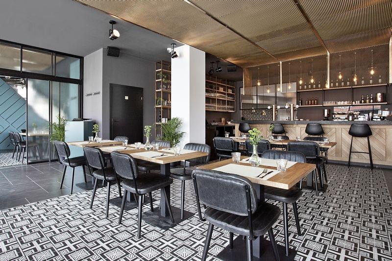 Zaprojektowana restauracja