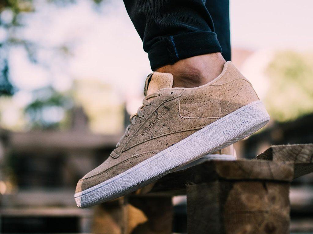 Sneakersy Reebok zamszowe