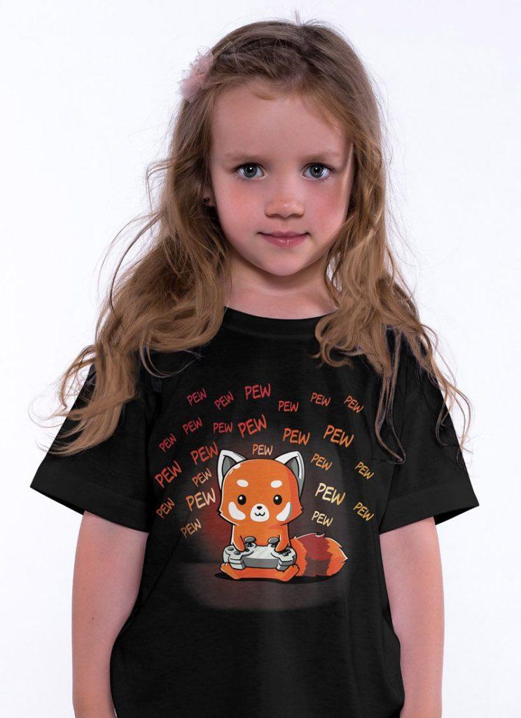 Koszulka z liskiem