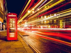 Ulica w Wielkiej Brytanii