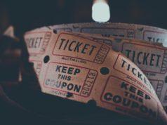 Rolka papierowych biletów