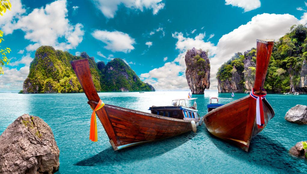 tajlandia, łodzie