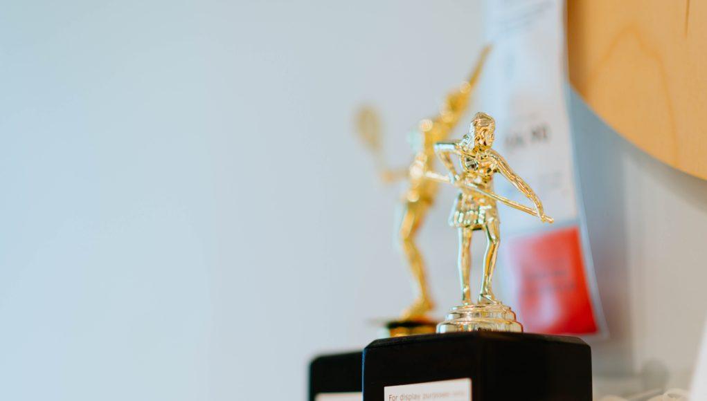 Sportowa statuetka