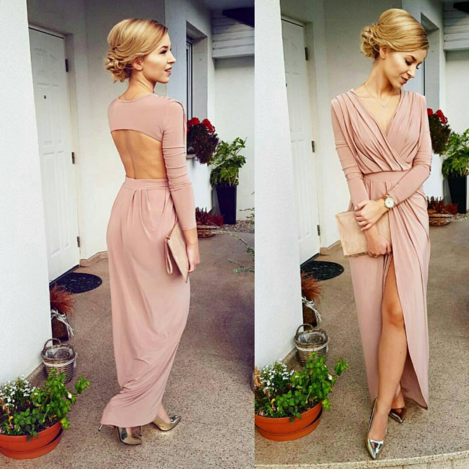 Długie sukienki na wesele od polskiej marki Sibysi. Zobacz