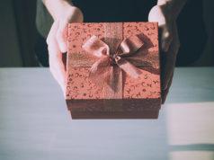 Doskonały pięknie zapakowany prezent