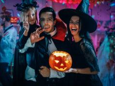 Halloween impreza na promie