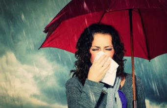 Objawy przeziębienia i grypy