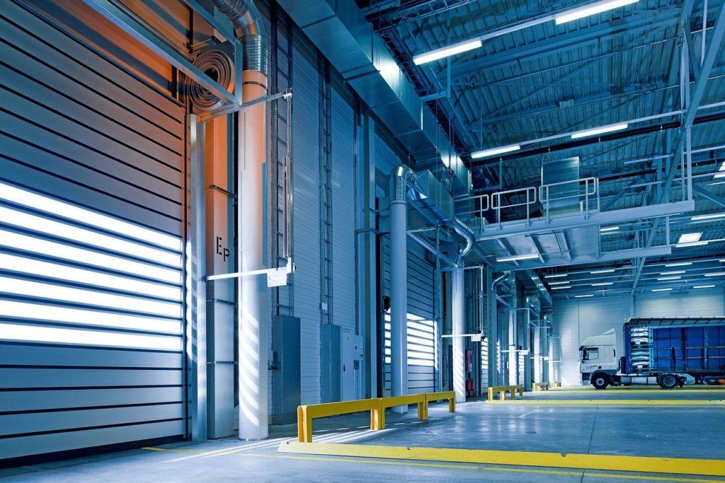 industrialna hala magazynowa