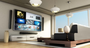 4K smart TV kino domowe