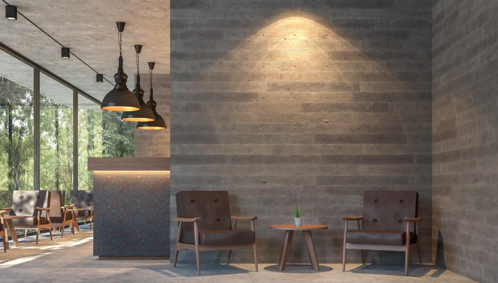 oświetlenie we wnętrzu w stylu loftowym