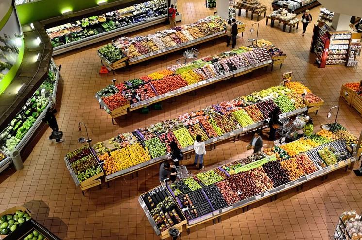 Lidl stoisko warzywa owoce