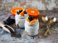 pudding chia żywność ekologiczna