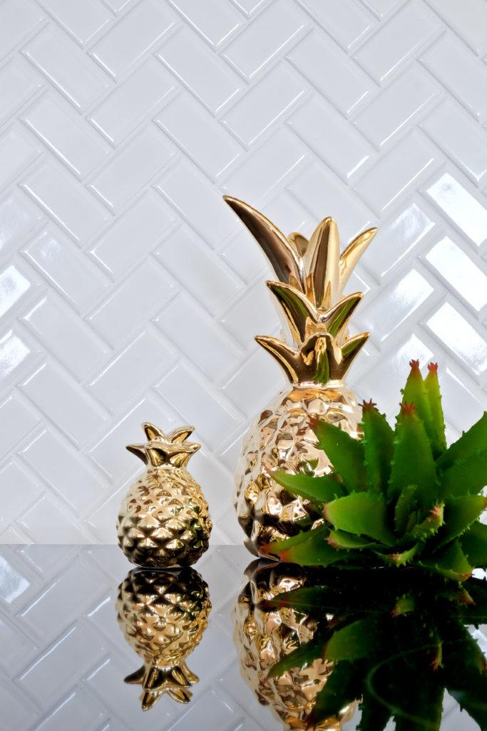 mozaika ceramiczna jodełka