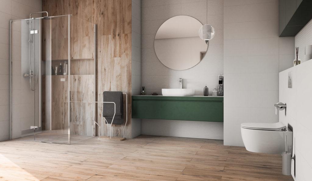narożna kabina prysznicowa