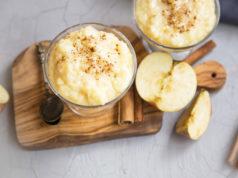 ryż na mleku z jabłkami