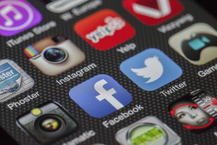 aplikacje na social media