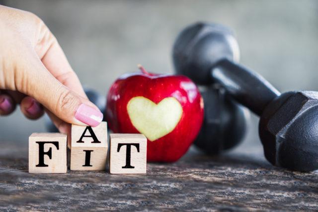 zmiana fat na fit