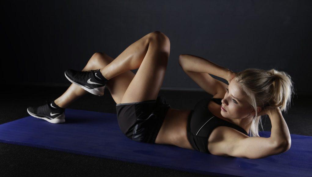 kobieta trening