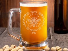 personalizowany kufel na piwo