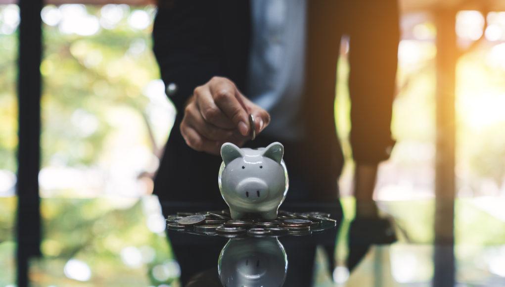 świnka skarbonka oszczędzanie monety