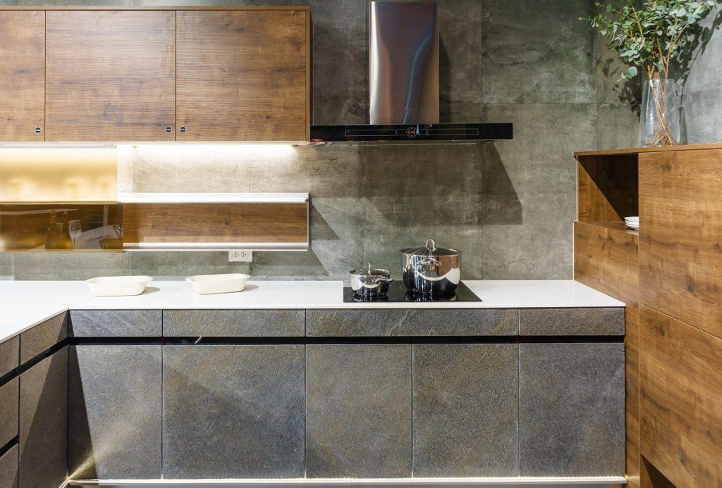 kamień naturalny w kuchni