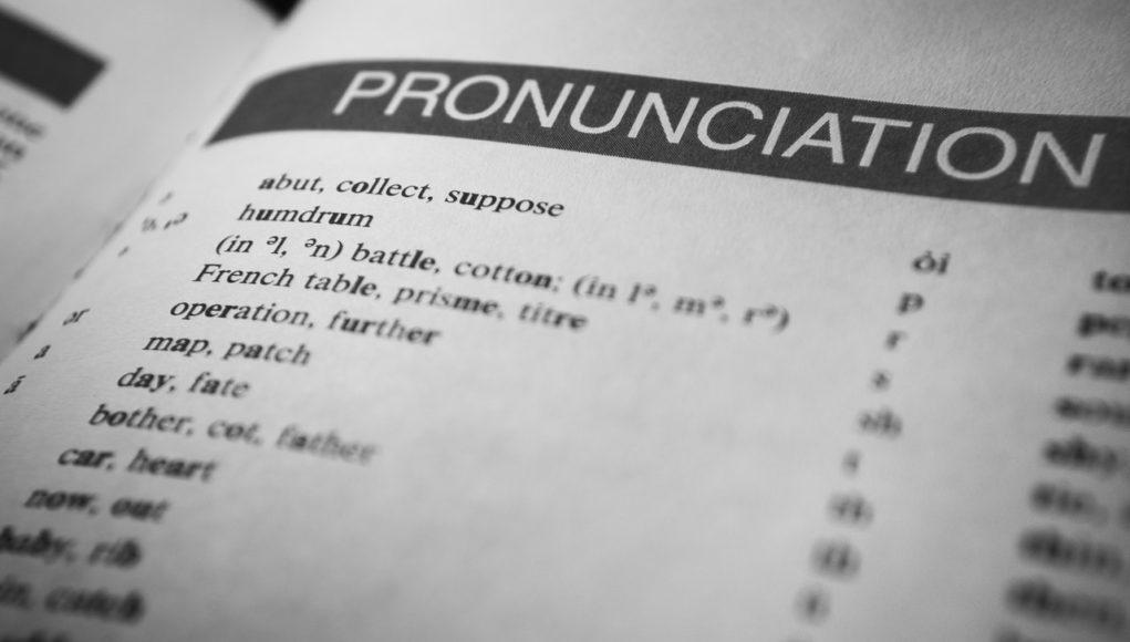 karta ze słownika języka angielskiego