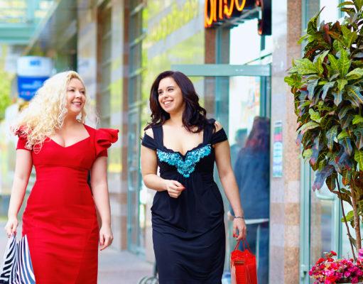 kobiety XL w pięknych sukienkach