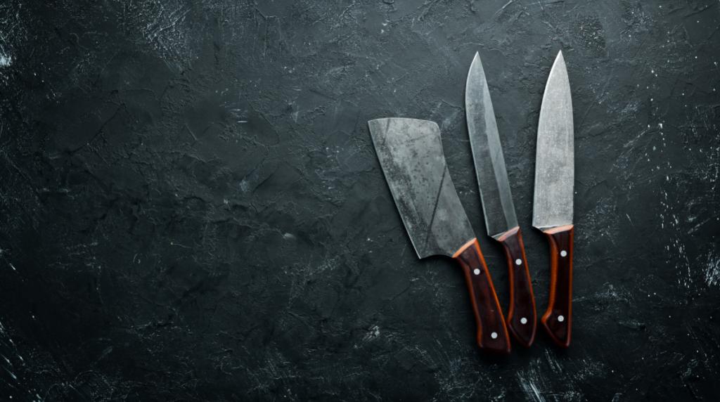 rzemieślnicze noże kuchenne