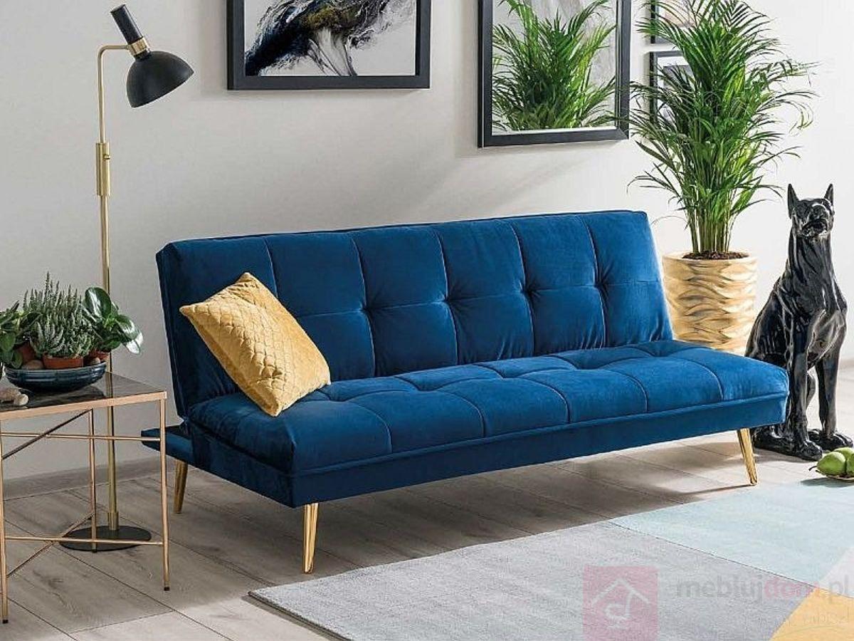 sofa bez podłokietników