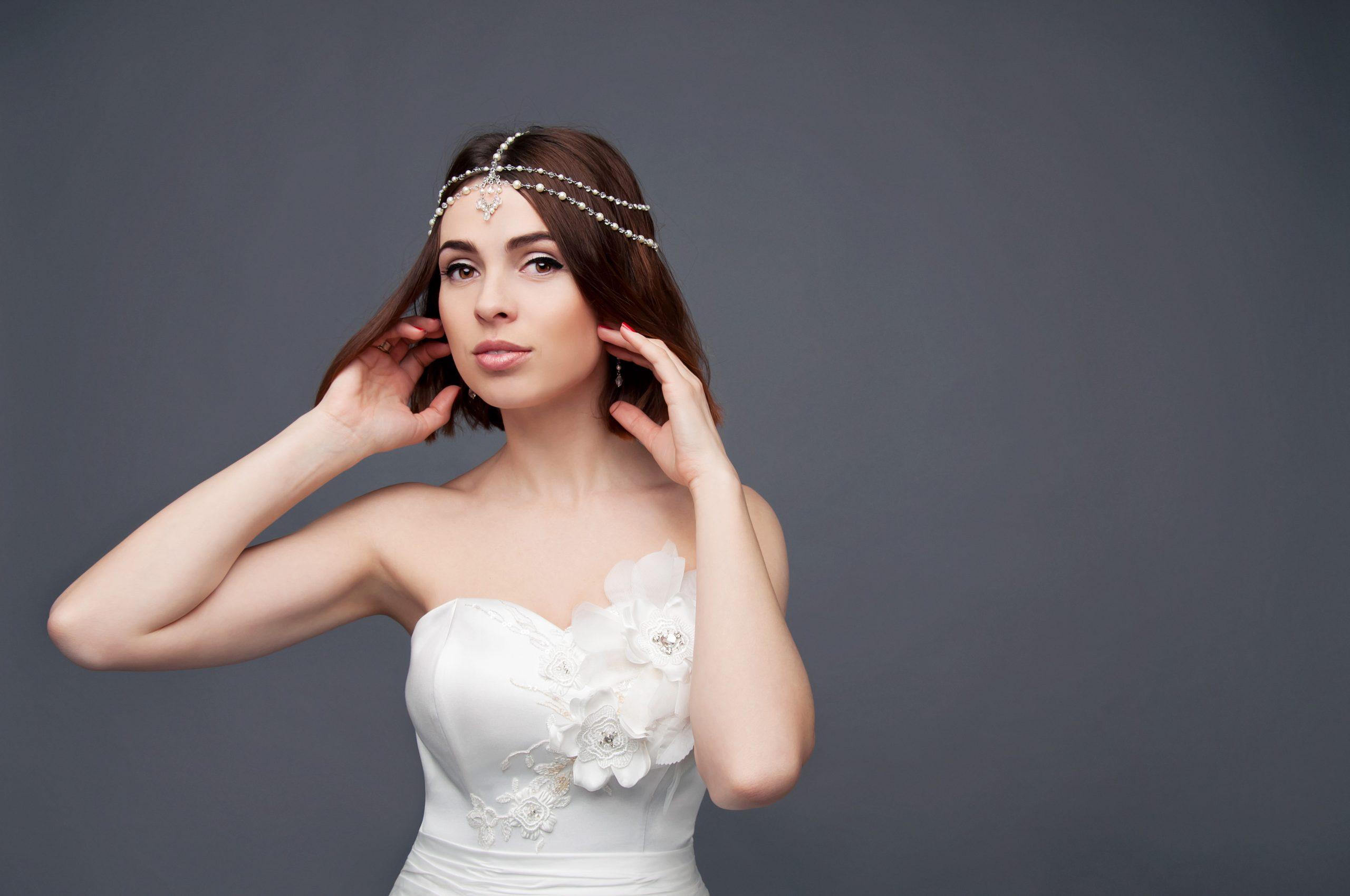 ozdoba na włosy panny młodej
